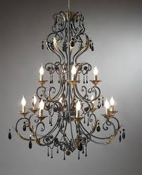 chandeliers design awesome captivating black iron kitchen