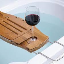 Teak Bathtub Caddy Canada by 15 Marvelous Bathtub Tray Design Ideas To Enjoy Every Moment