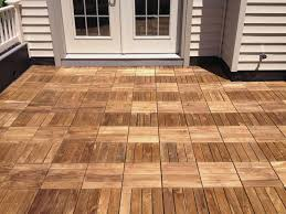 sophisticated wood deck tiles new basement and tile ideas