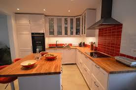 photo cuisine avec carrelage metro carrelage métro inspiration et idées déco pour cuisine et salle