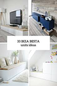 Living Room Storage Ideas Ikea by 33 Ways To Use Ikea Besta Units In Home Décor Wohnzimmer