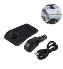 Wireless Bluetooth Car Kit Speakerphones Charger Handsfree for Cell Phone