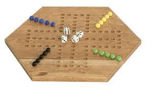 American Made Oak Aggravation Board Game