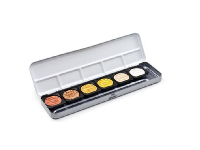 FineTec Pearl Colours Watercolours - set with 12 Metallics