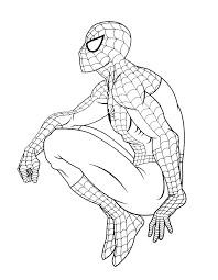 Coloriage Ultimate Spider Man Coloriage Spiderman Les Beaux Dessins