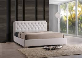 Amazon King Bed Frame And Headboard by Amazon Com Mod Made Miyo Tufted Bed Frame And Headboard King