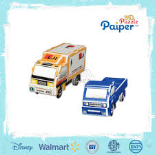 100 Trucks Paper Diy Mini Construction Model Toy Truck For Sale Buy