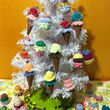 Best Cashmere Handmade Cupcake Ice Cream Cone Ornaments For Sale In San Benito County California 2019