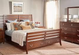 juniper cherry 5 pc queen bedroom badcock home furniture more