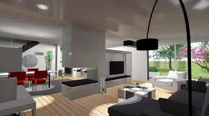 amenagement interieur cuisine cuisine et salon moderne emejing architecture de ideas