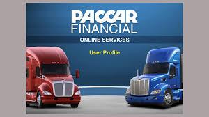 100 Paccar Financial Used Trucks Update Your User Profile PACCAR Online Services YouTube