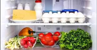 comment ranger frigo lorsqu on est au régime fourchette