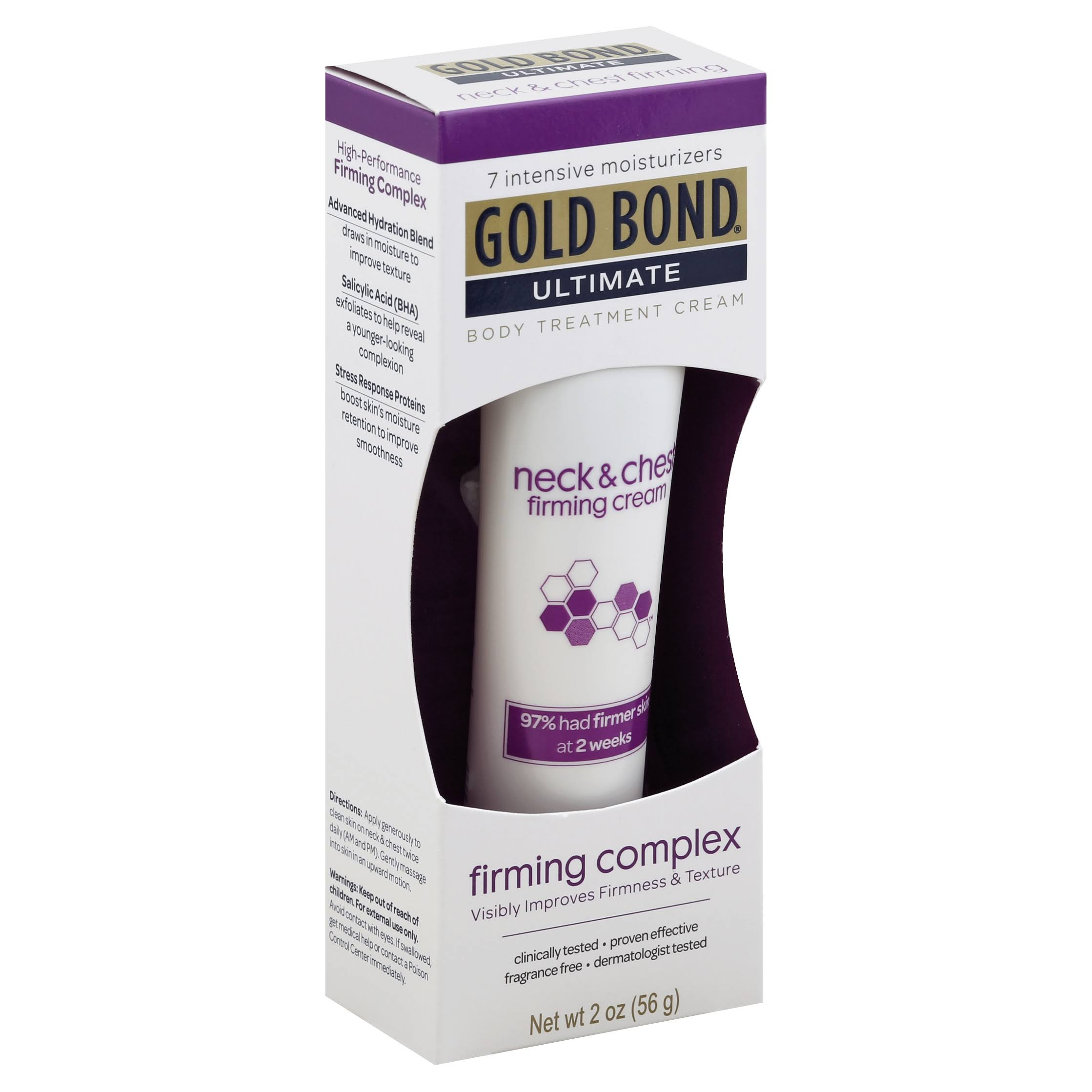 Gold Bond Ultimate Neck and Chest Firming Body Treatment Cream - 2oz