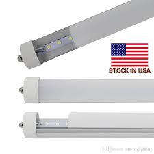 fa8 8ft led lights 8 ft t8 single pin 36w 45w r17d bulbs led