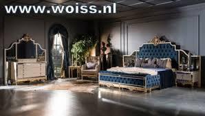 woiss möbel klassisches schlafzimmer komplett set beige gold