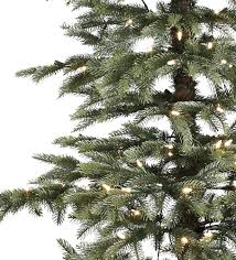 Artificial Christmas Tree 7ft Pre Lit by 7ft Pre Lit Windsor Spruce Feel Real Artificial Christmas Tree
