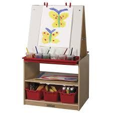 Kidkraft Easel Desk Espresso by Easels You U0027ll Love Wayfair