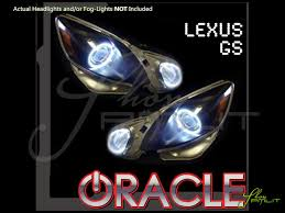 06 11 lexus gs350 gs430 gs460 ccfl halo rings headlights bulbs