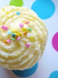 Cupcake with Sprinkles Wallpaper