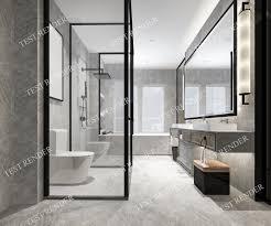 100 Modern Luxury Design Luxury Marble Toilet And Bathroom 3D 1