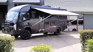 USED 2014 I BUS 300 4x4 MOTORHOME