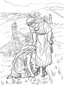 Ruth And Naomi Coloring Pages Select From 25763 Printable Of Cartoons Animals Nature Bible Many More