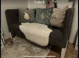 ikea knoppard sofa kinder gäste grau eur 50 00