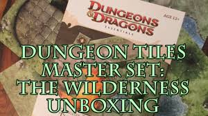 dungeons and dragons tiles master set dungeon tiles master set the wilderness unboxing