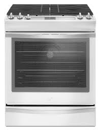 25 Inch Drawer Pulls White by Shop Slide In Gas Ranges At Lowes Com