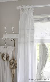 the tie top curtains shabby chic badezimmer