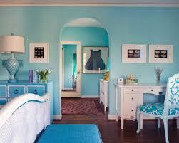 turquoise interior ideas of small classic italian bedroom wall