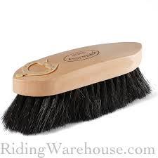Horse Hair Shedding Tool by Wood Back Horse Hair Dandy Brush Large