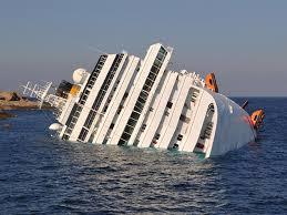 cruise ship sinking italy sinks ideas
