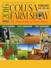 Pumpkin Patches Near Chico California by 2016 Colusa Farm Show Program By Me And Mine Magazine Issuu