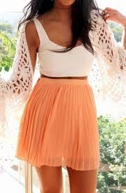 Fashion Skirt And Summer Image Clothes