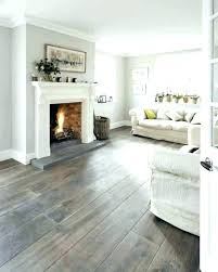 Light Wood Floors With Grey Walls Living Room Wall Painting And White Plinth Combination Frame Window Hardwood Flo