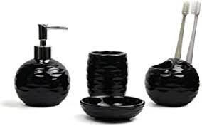 comsaf porzellan badezimmer zubehör set aus