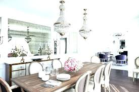 Farm Table Dining Room Chandeliers Rustic Glam Chandelier Decor Farmhouse Open Concept Kitchen Home Improvement Loan Calculator Chase C