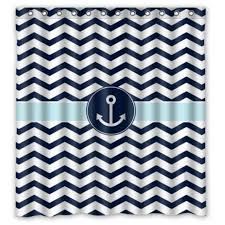 Navy Blue Chevron Curtains Walmart by Navy Blue Chevron Curtains Navy Blue Chevron Shower Curtain By