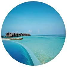 100 Maldives Infinity Pool Amazoncom Weeosazg Round Rug Mat Carpet House Decor
