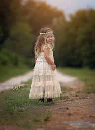 Ivory Flower Girl Dress Rustic Lace Dresses Country Girls