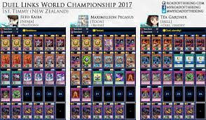 yu gi oh duel links world chionship 2017 decks road of the king
