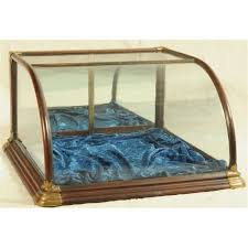 Image Of Countertop Jewelry Display Case Curved