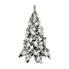 ALEKO CT70H663 Snow Dusted 6 Foot Artificial Holiday Christmas Tree