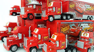 Disney Tomica Truck Hauler Learn Colours With Cars Mack Truck Hauler ...