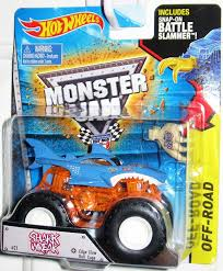 100 Shark Wreak Monster Truck Amazoncom Hot Wheels Jam 21 Edge Glow Roll