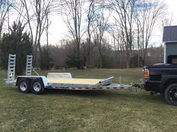 Load Rite 20ft Galvanized Heavy Duty Equipment Trailer For Sale In ...