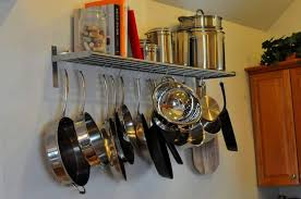 Hanging Rack Pots And Pans Kitchen Storage Pots And Pans Kitchen