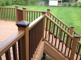 Totally Fresh Trex Decking Colors For Patio Ideas: Deck Railings ... Best 25 Deck Railings Ideas On Pinterest Outdoor Stairs 7 Best Images Cable Railing Decking And Fiberon Com Railing Gate 29 Cottage Deck Banister Cap Near The House Banquette Diy Wood Ideas Doherty Durability Of Fencing Beautiful Rail For And Indoors 126 Dock Stairs 21 Metal Rustic Title Rustic Brown Wood Decks 9