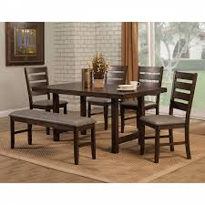 2929 Alpine Furniture 2929-01 Emery 6PC SETS Dining Table + 4 ... 4 Chair Kitchen Table Set Ding Room Cheap And Ikayaa Us Stock 5pcs Metal Dning Tables Sets Buy Amazoncom Colibrox5 Piece Glass And Chairs Caprice Walkers Fniture 5 Julia At Gardnerwhite Pc Setding Wood Brown Ikayaa Modern 5pcs Frame Padded Counter Height Ding Set Table Chairs Right On Time Design 4family Elegant Tall For Sensational